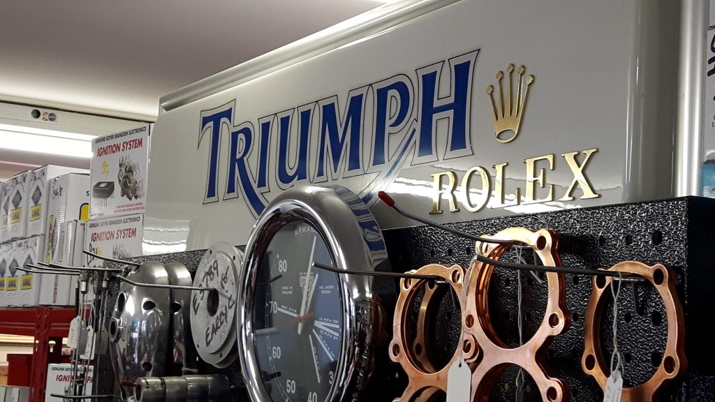 Tri Supply, Triumph parts supplier