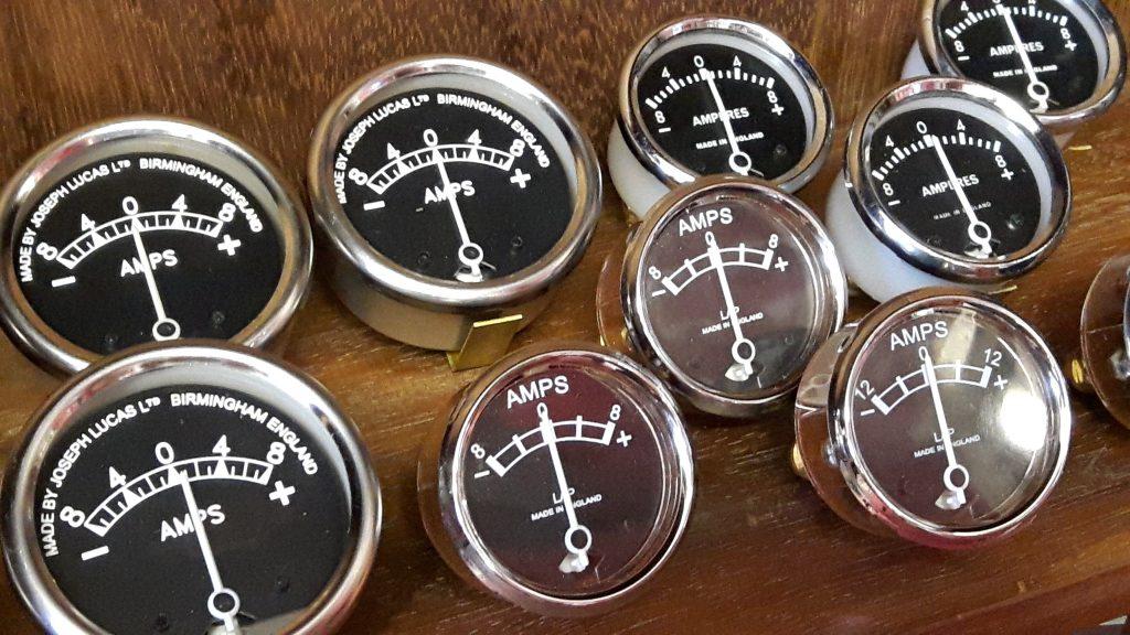Ammeters for Triumph