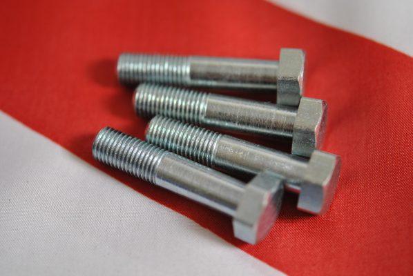Triumph Fork leg cap bolt 26TPI - set of 4.