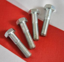Triumph Fork leg cap bolt UNF, per set of 4.