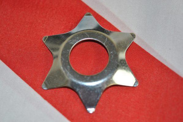 Triumph fork Damper spring plate (star).