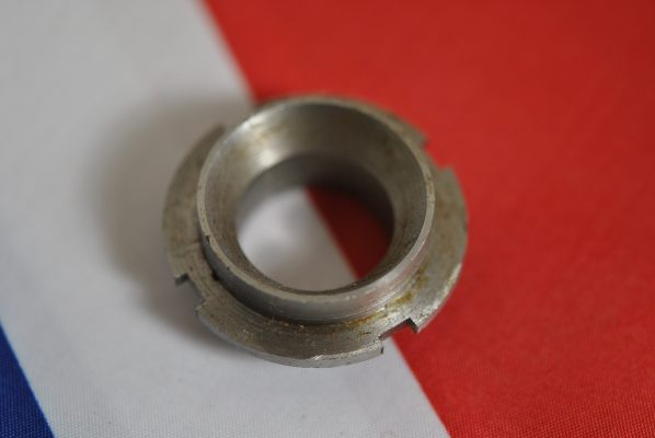 "Triumph lower fork bush nut later type with 3/4"" hole, 'C' and 'B' range, '59 on."
