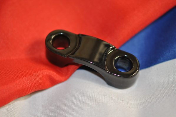 """Triumph fork Forged cap, handlebar clamping, 1"""""""