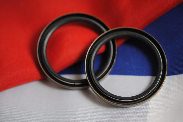 Triumph fork seals internal spring forks, 1957-1962 all models
