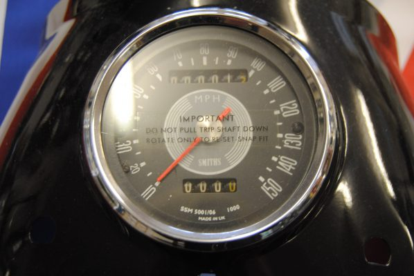 Re-conditioning service for chronometric and magnetic speedos - timescale 6-8 weeks approx Price on application. NB: All Speedometers/Rev. Counters come with 12 months guarantee