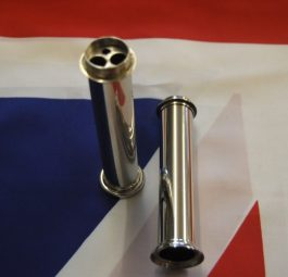 """70-3646 Pre-unit & Unit up to 1965 push rod tube to suit """"Alloy head"""". Made from Stainless Steel in Birmingham, England"""