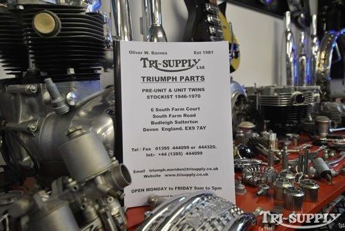 Triumph Parts Catalogue Classic